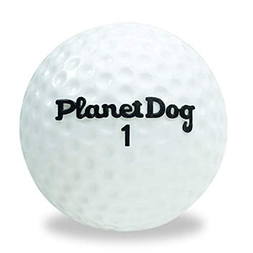 Planet Dog Orbee-Tuff - Robustes Spielzeug für Hunde - Golfball-Design