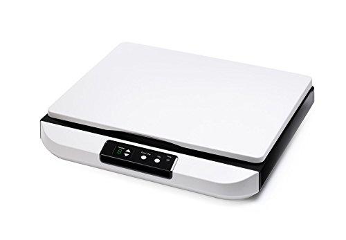 Avision FB5000 Flachbett-Scanner (A3, 600dpi, USB 2.0) anthrazit/weiß