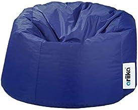 كرسي بين باج باف قماش كبير من اريكا - أزرق