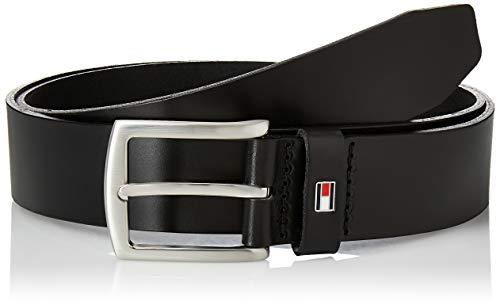 Tommy Hilfiger Herren Gürtel New Denton 3.5 Belt, Schwarz (BLACK 990), 100 cm, E3578A1208990