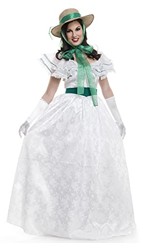 Charades Women's Southern Belle Adult Sized Costumes, As Shown, X-Small