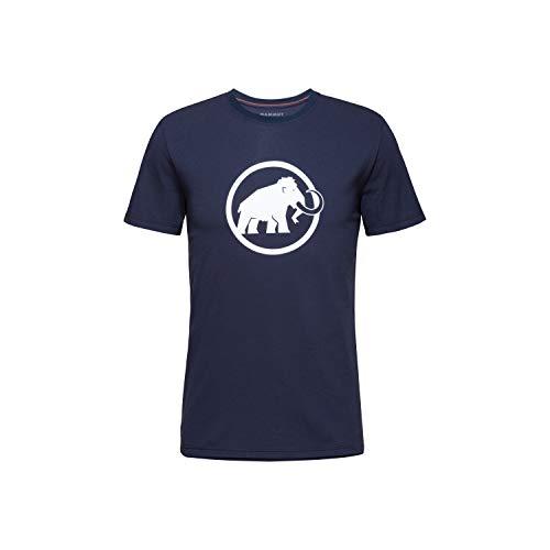 Mammut Camiseta Modelo Camiseta Classic Hombre Marca, Marine, M