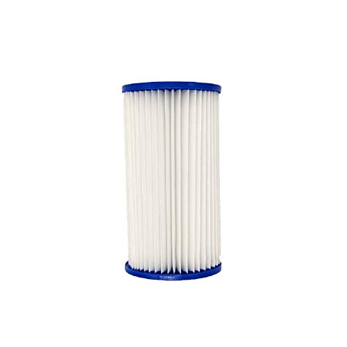 Filter für Pool für Bestway Typ A, ersetzt Filterkartuschen, Filterkartusche, Poolreinigungsfilter Zubehör (Weiß, Einheitsgröße)