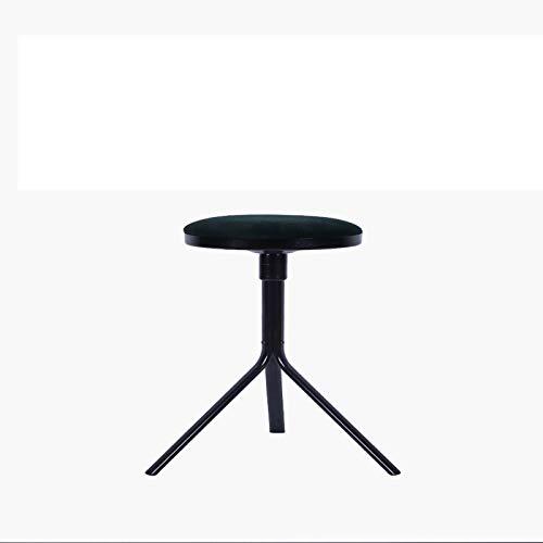 Chair Taburete de la Barra giratoria for encimera Altura Metal Taburetes fácil Montaje sin Respaldo Banqueta de Bar, for la Cocina, Comedor, Bar, cafetería