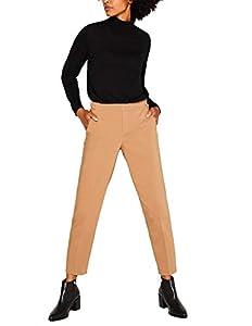 ESPRIT Damen 109Ee1B020 Hose, Braun (Camel 230), W/L28(Herstellergröße:38/28)