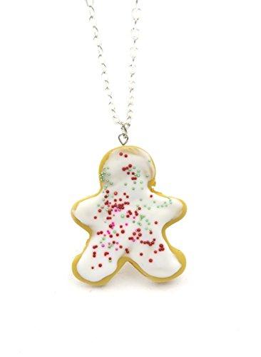 schmuck-stadt Weihnachts-Keks Kette Verschiedene Formen Cookies (Lebkuchenmann Keks)