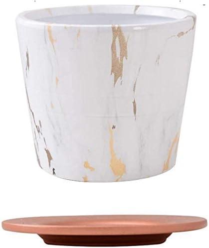 New San Jose Mall item Garden ceramic planting pots Marble Fl Tray Ceramic Texture With