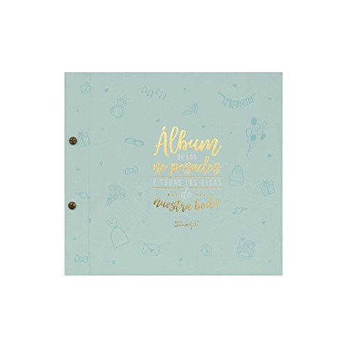 Mr; Wonderful Woa08967Es Álbum De Los No Posados Y Todas Las Risas De Nuestra Boda, 27X1.5X25 Cm