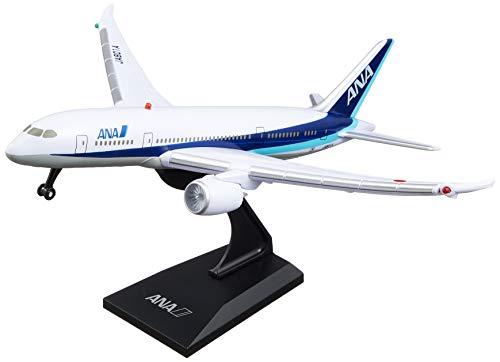 エアプレーングッズリアルサウンドジェットディスプレイスタンド付きANA飛行機模型MT456