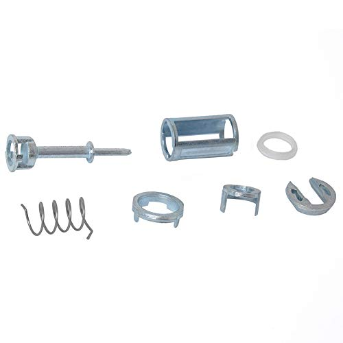 kaakaeu 1 Juego de reparación de Cilindro de Cerradura de Puerta Delantera Izquierda/Derecha 3B0837167/3B0837168 para Lupo B2 B3 B5 B6 Kit de Piezas de Repuesto para Mantenimiento de automóviles