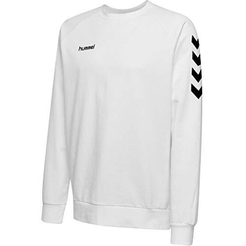 Hummel Kinder T-shirts Hmlgo Kids Cotton, weiß (Weiß), 140 (L)