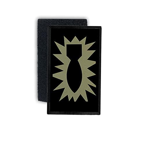 Copytec EOD US Army Abzeichen Patch Aufnäher Kabul K&uz Afgahnistan 7,5x4,5#37570