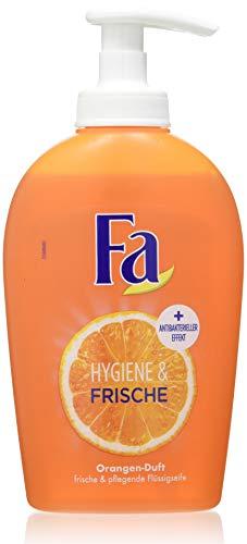 Fa Flüssigseife Hygiene & Frische mit Orangen-Duft, 1er Pack (1 x 250 ml)