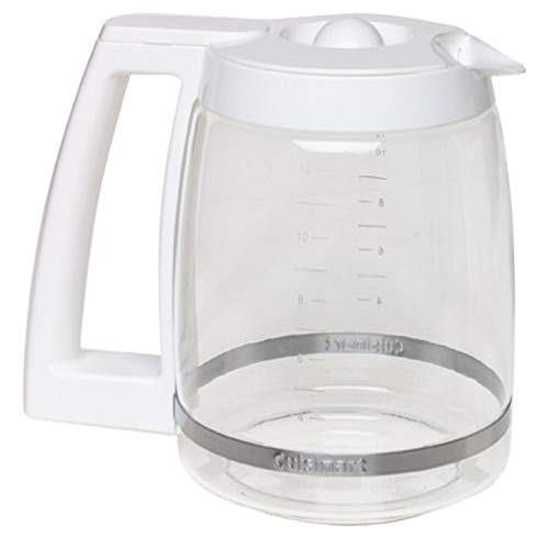 Cuisinart DGB-500WRC 12-Cup Replacement Coffee Carafe, White