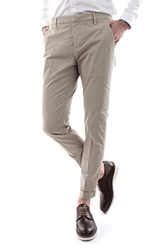 DONDUP Gaubert GSE046 Pantaloni Uomo Beige 30