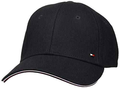 Tommy Hilfiger Herren Elevated Corporate Cap Hut, Black, OS
