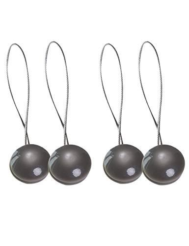 2-paar Moderne Mini Magnetische Gordijn Tiebacks - Staaldraad Raam Gordijn Gesp Voor Thuiskantoor Decoratie