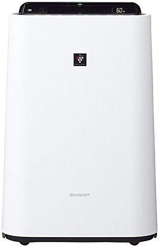 シャープ 加湿 空気清浄機 プラズマクラスター 7000 スタンダード 13畳 / 空気清浄 23畳 ウイルス 花粉 2017年モデル ホワイト KC-H50-W