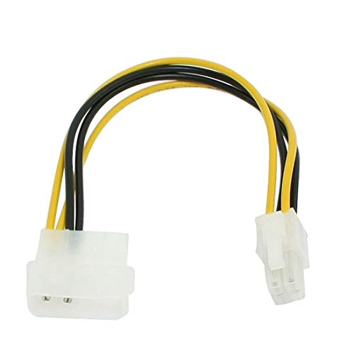 Extension Cable Cord Connector moederbord Molex IDE 2-pins naar 4-pins ATX P4 12V ATX ​​CPU Stroomconnectoradapter Cable Usb-kabel stroomkabel sata kabel PS4 macht cabl