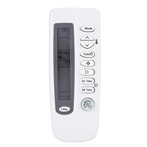 DERCLIVE Telecomando di ricambio per condizionatore d aria Samsung ARC-410 ARH-401 ARH-403