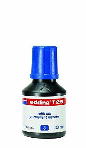 Nachfülltinte edding® T25/T100/T1000, lichtbeständig, Inhalt 30ml, blau