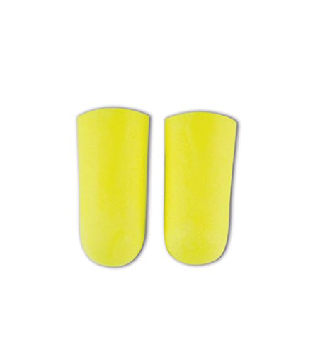 E-A-R by 3M 10080529120639 312-1250 Soft Yellow Neon Disposable Uncorded Earplugs, One Size Fits All (Pack of 200)