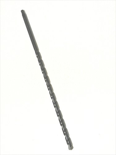 Pierce Installer Masonry Carbide Tip Drill Bit with a Patented Round Threaded Hollow Tip Shank, 1/2-Inch x 17-Inch Length