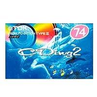 TDK カセットテープ 1本 74分ハイポジ(タイプ2) [CD2-74R_H]