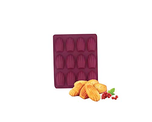 Ard'time - Plaque en Silicone Prune 12 minis madeleines