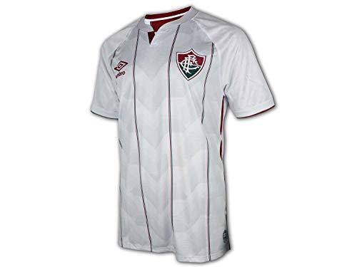 UMBRO Fluminense Auswärtstrikot 20/21 weiß FFC Rio de Janeiro Away Shirt Jersey, Größe:XL