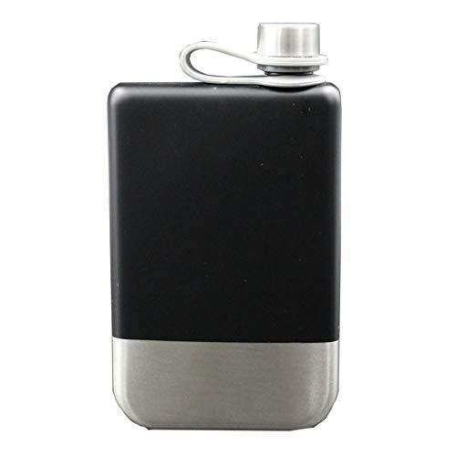 Rory Flacon ketel 9 oz RVS heupfles voor opslag whisky scotch alcohol, pak voor kamperen, wandelen, vissen, outdoor-sport