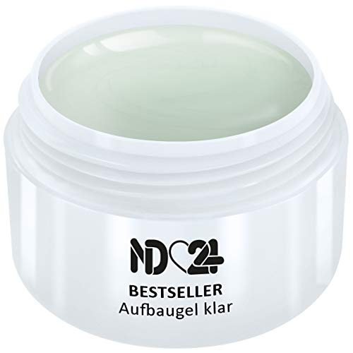 30ml - BESTSELLER - AUFBAU-GEL klar dickviskos - UV Nagelgel - Made in Germany - säurearm selbstglättend