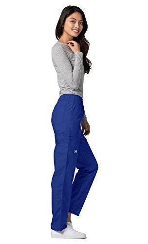 Adar Uniforms Medizinische Schrubb-hosen – Damen-Krankenhaus-Uniformhose 506 Color RYL | Talla: S - 5