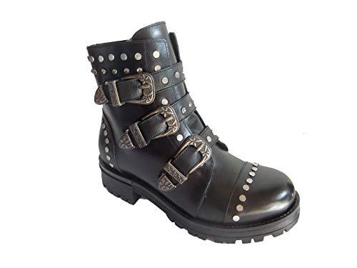 Lazamani Damen Boot 85182 Black SizeMap 40