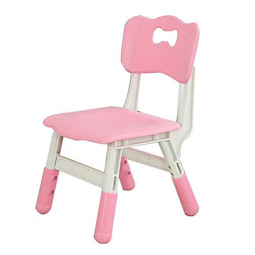 Verstellbarer Kinderschreibtischstuhl, Arbeitsstuhl für Heimkinder, verstellbarer Liftschülersitz, abnehmbarer Computerstuhl, geeignet für Schule, Schlafzimmer, Kinderzimmer, mehrfarbig optional