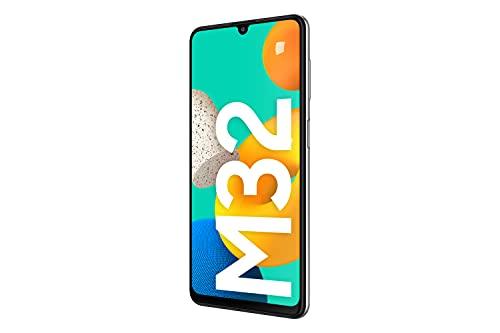 Samsung Galaxy M32 Android Smartphone ohne Vertrag, 6,4-Zoll -Infinity-U-Display, starker 5.000 mAh Akku, 128 GB/6 GB RAM, Handy in White, deutsche Version exklusiv bei Amazon - 4
