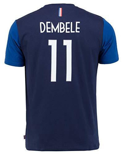 T-Shirt FFF – Ousmane Dembele – Offizielle Kollektion Herrengröße M
