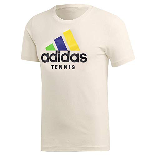 adidas Category Limited Edition Tennis-T-Shirt, kurzärmelig, Herren, kurzärmelig, Category Limited Edition Tennis Tee, cremeweiß, XX-Large