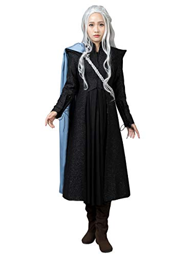 CosFantasy Queen Daenerys Targaryen Cosplay Costume Outfit mp004092 (Large)