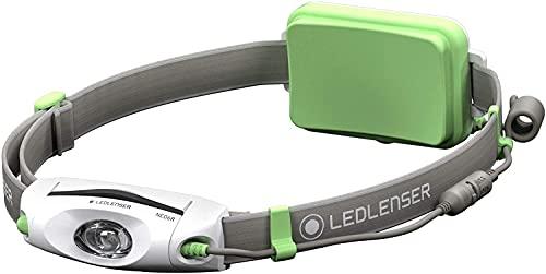 Led Lenser NEO6R Linterna Frontal, Unisex Adulto, Verde, Talla única