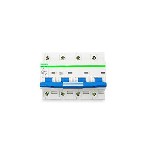 Interruptor automático magnetotérmico 4P 125A 10kA WERDEN