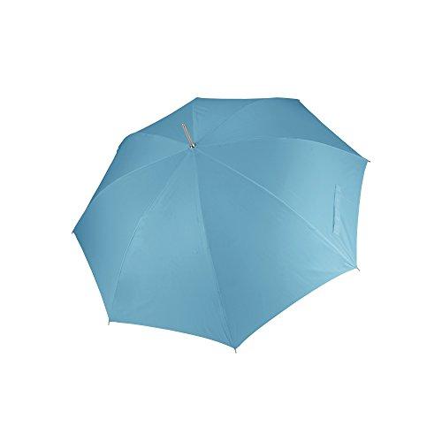 Kimood - Paraguas para golf apertura automática unisex (Talla Única/Azul cielo)