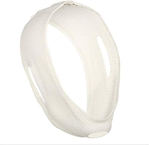 Anti snurken kinband, snurken oplossing, slapen apparatuur kinband slaap steun, voor mannen en vrouwen,White