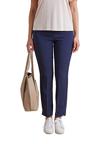 Elena Mirò : Pantaloni con Linea Slim Blu 43 Donna