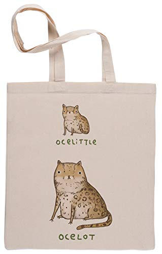 Ocelittle Ocelot Bolsa De Compras Shopping Bag Beige