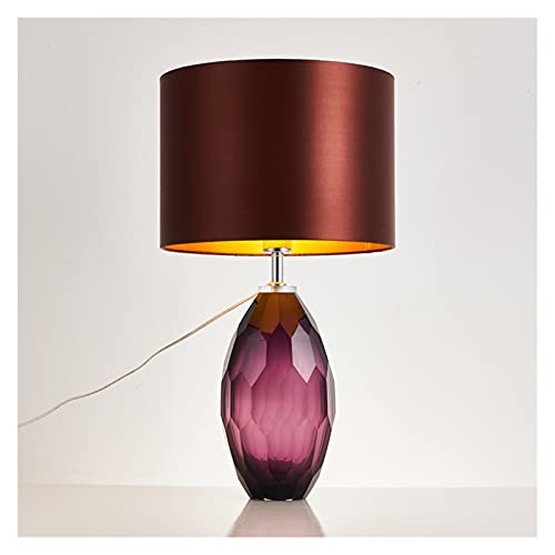 zxb-shop Living Room Bedroom Table Lamp Table Lamp Modern Fashion Creative Table Lamps Metal K9 Crystal Table Lamp Bedroom Bedside Desk Lamp Ceramic Table Lamp Nightstand Bedside Nightstand Lamp