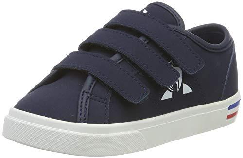 Le Coq Sportif Jungen Unisex Kinder Verdon INF Premium Sneaker, Blau Dress Blue Dress Blue, 21 EU