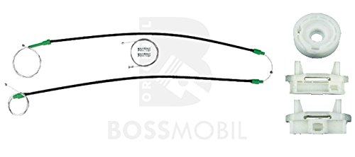 Bossmobil FOCUS (DAW, DBW), Kombi (DNW), Stufenheck (DFW), Delantero izquierdo, kit de reparación de elevalunas eléctricos