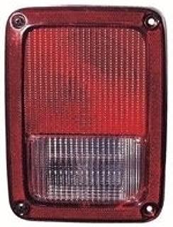 jeep wrangler tail light lens cover
