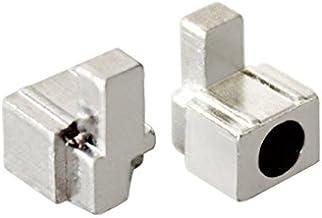 Peças de reposição de metal para reparo de fivela direita esquerda para controle Nintendo Switch NS Joy-con